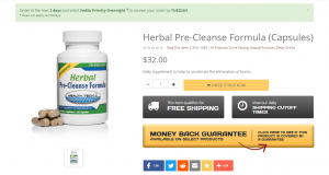 Herbal pre cleanse capsule review